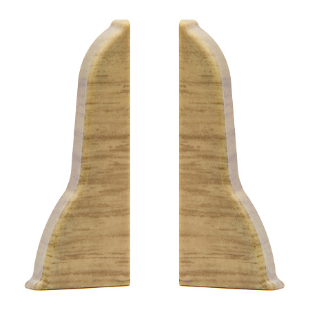 Set terminatii stanga+dreapta pentru plinta parchet, stejar arizona