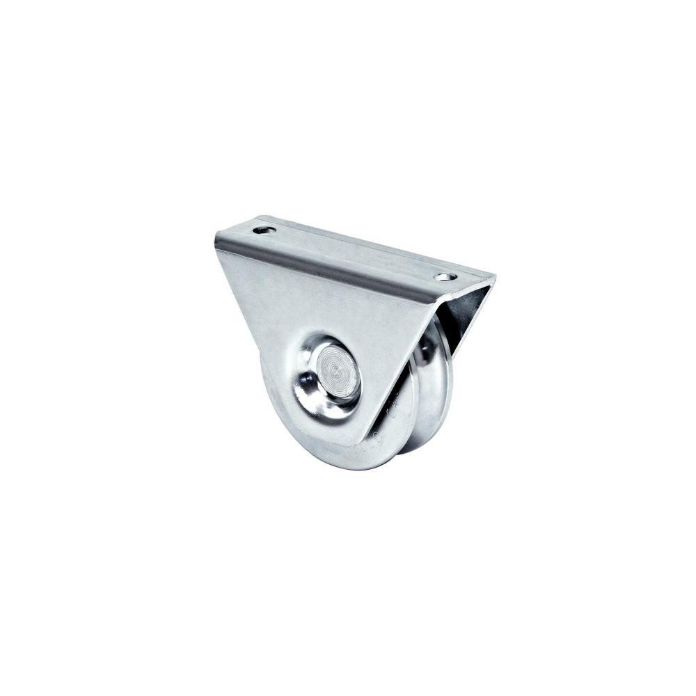 Rola aplicata cu rulment pentru porti culisante, profil U, Ø 98mm