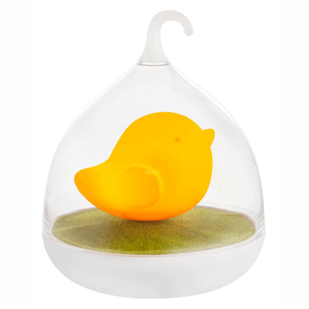 Lampa Ampato, 4 x LED, incarcare USB, portocaliu imagine 2021 mathaus