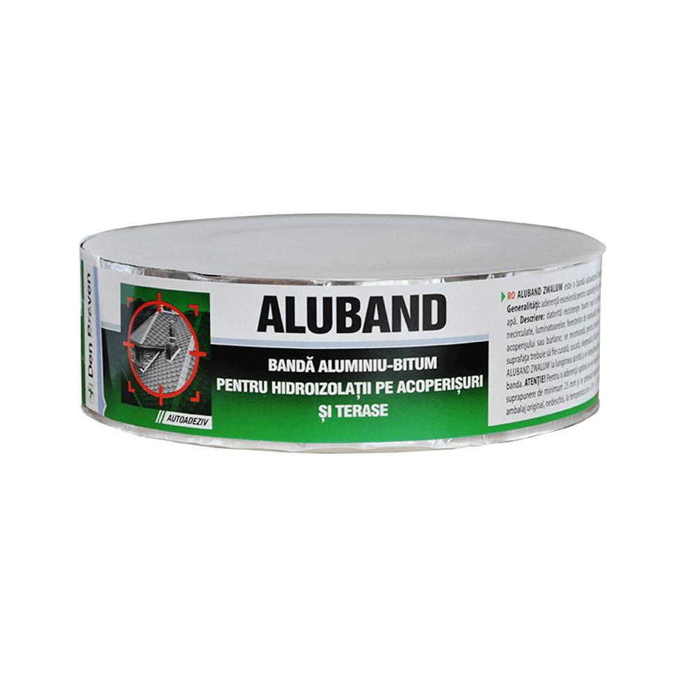 Banda bituminoasa pentru etansare sau hidroizolatii, Alu Band, 5 cm, 10 m/rola