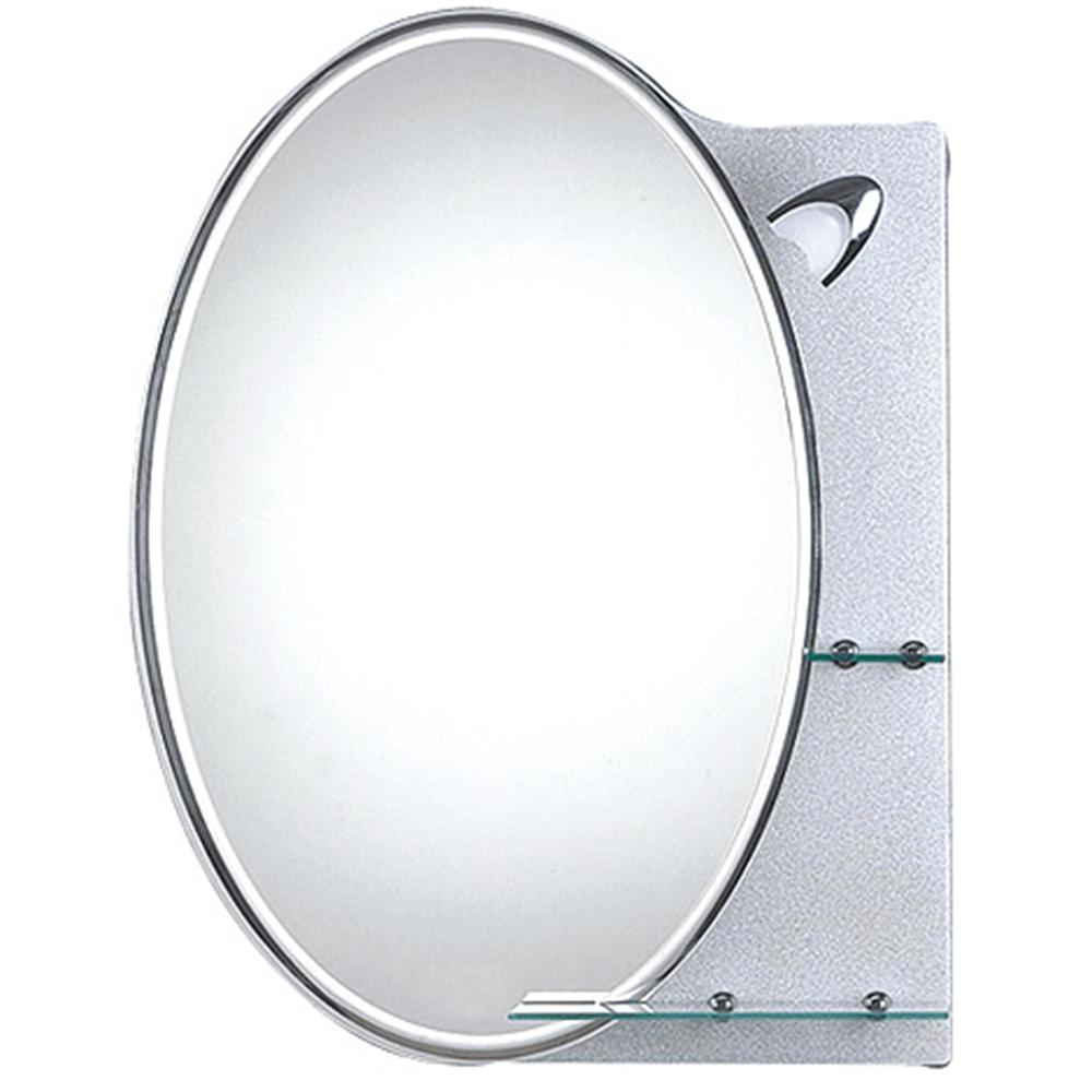 Oglinda baie cu iluminare directa Sanotechnik, dreptunghiulara, 70 x 90 cm