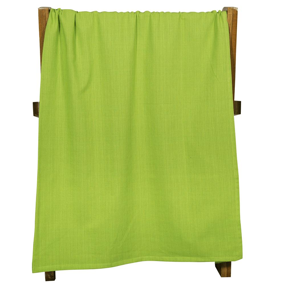 Pled Passion, bumbac, verde, 140 x 200 cm imagine MatHaus.ro