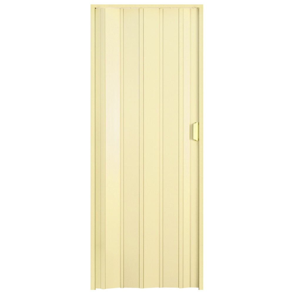 Usa plianta din PVC Italbox Promo crem, 85 x 203 cm