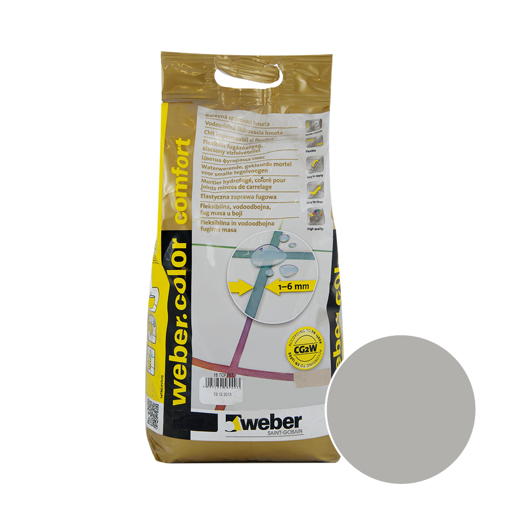 Chit de rosturi Weber Color Comfort, dakar, 2 kg imagine 2021 mathaus