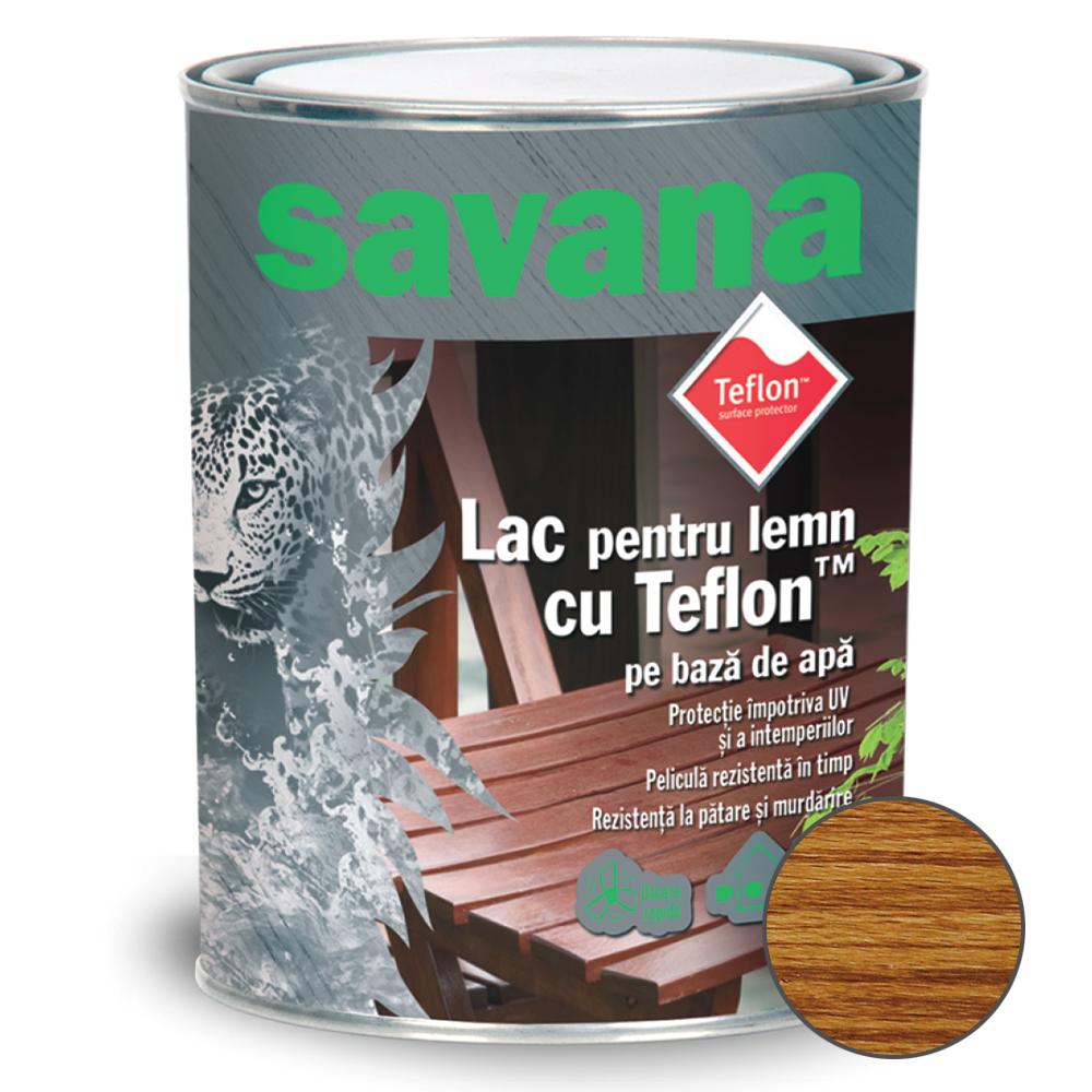 Lac acrilic Savana pentru Lemn stejar 0,75 L