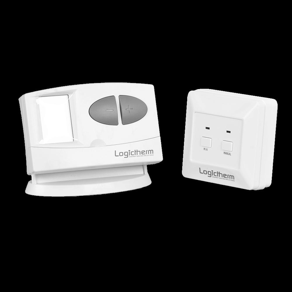 Termostat de ambient pentru centrala, wireless, Logictherm C7RF, programabil cu radiofrecventa, digital, 230 V mathaus 2021