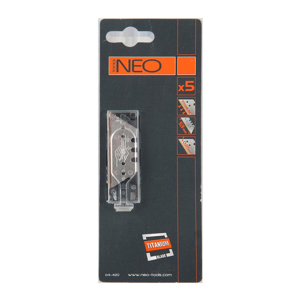 Rezerve lame cutter, Neo 64-420, 5 rezerve imagine MatHaus.ro