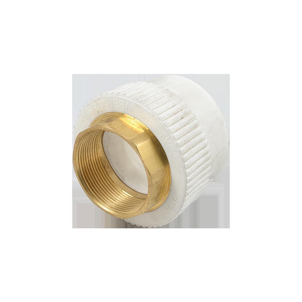 Mufa PP-R FI Supratherm, 63 mm x 2 inch imagine 2021 mathaus