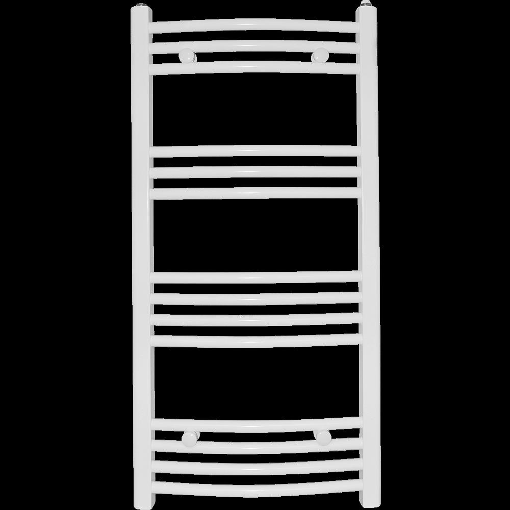 Calorifer baie Aquadesign, portprosop, alb, curbat, 500 x 1100 mm, accesorii incluse mathaus 2021