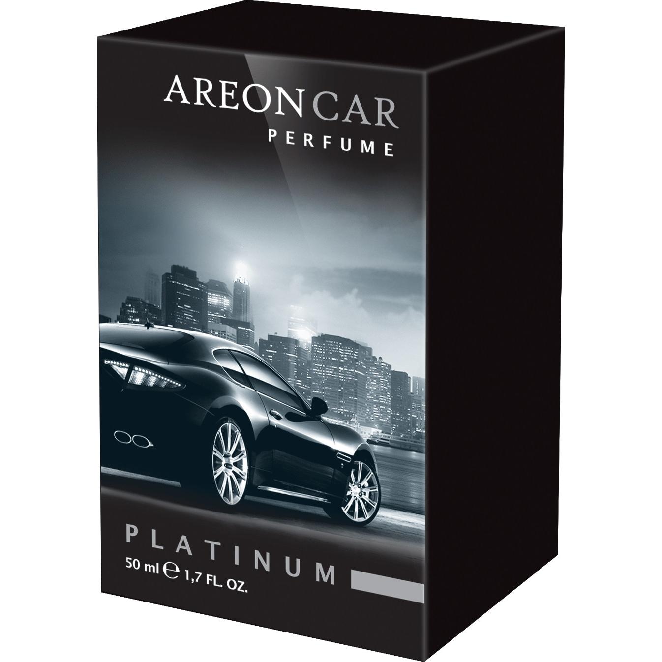 Odorizant auto, Areon Perfume new design, Platinum, 50 ml imagine MatHaus.ro