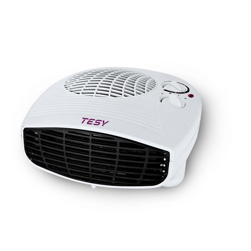 Aeroterma cu ventilator Tesy HL 202 H, 2 trepte de putere, 2000 W, 23 x 25 x 10,5 cm, termostat de siguranta imagine 2021 mathaus
