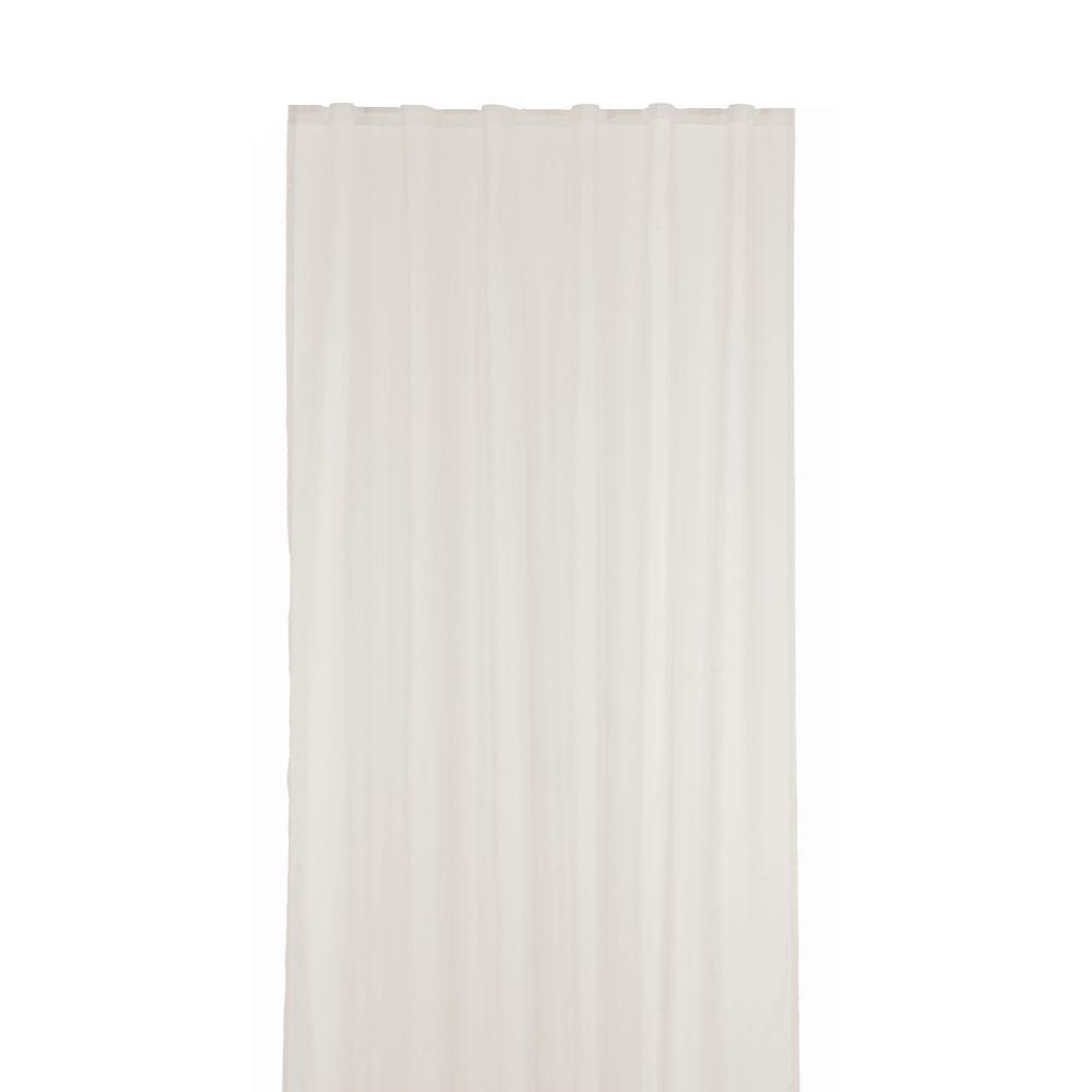 Perdea voal, poliester, alb 101, 140 x 245 cm imagine 2021 mathaus