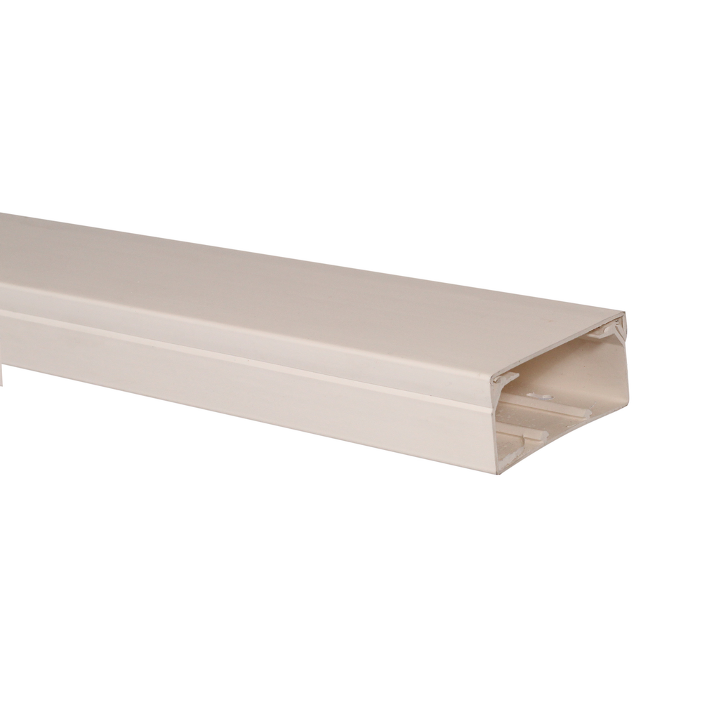 Canal cablu 80 x 40 mm, 2 m, alb, PVC ignifugat