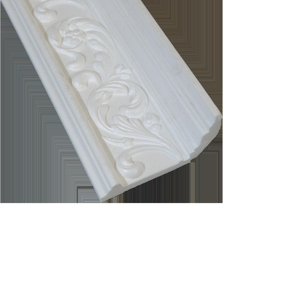 Bagheta decorativa DP195, polistiren extrudat, 195 mm x 2 m imagine 2021 mathaus