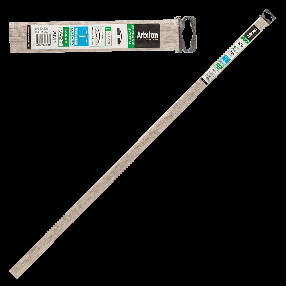 Profil de dilatatie din aluminiu SM1 Decora Arbiton stejar boston, 93 cm imagine 2021 mathaus