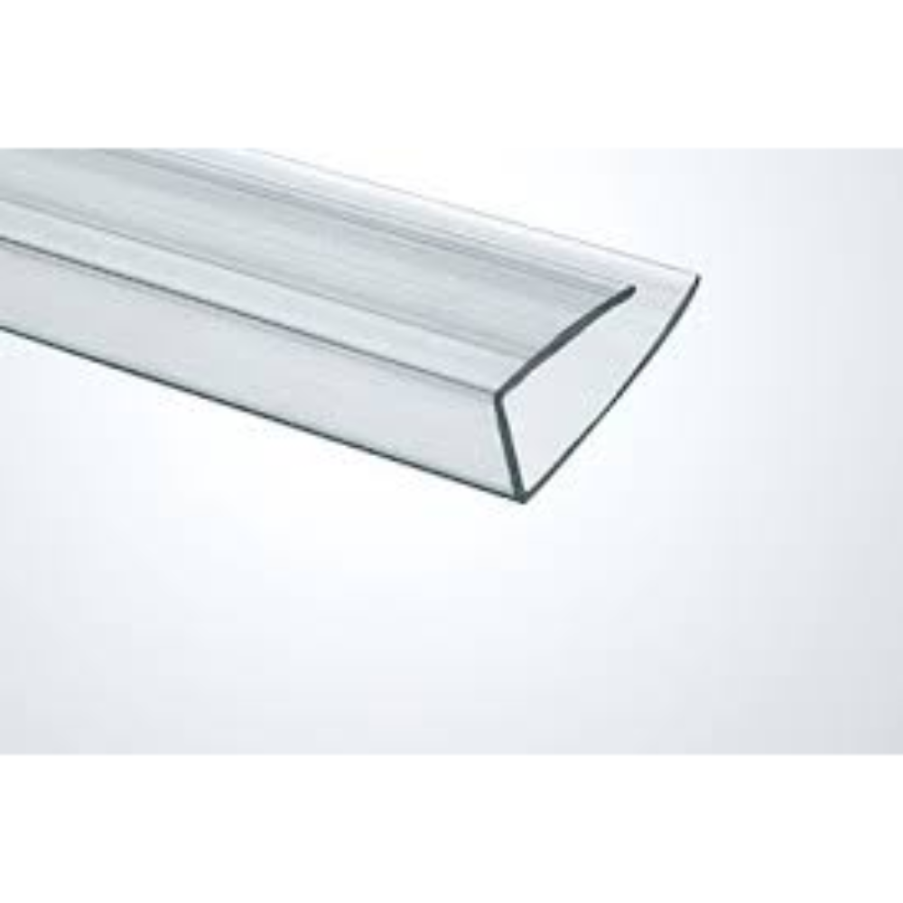 Profil U policarbonat transparent, L= 2,1 m, grosime 6 mm