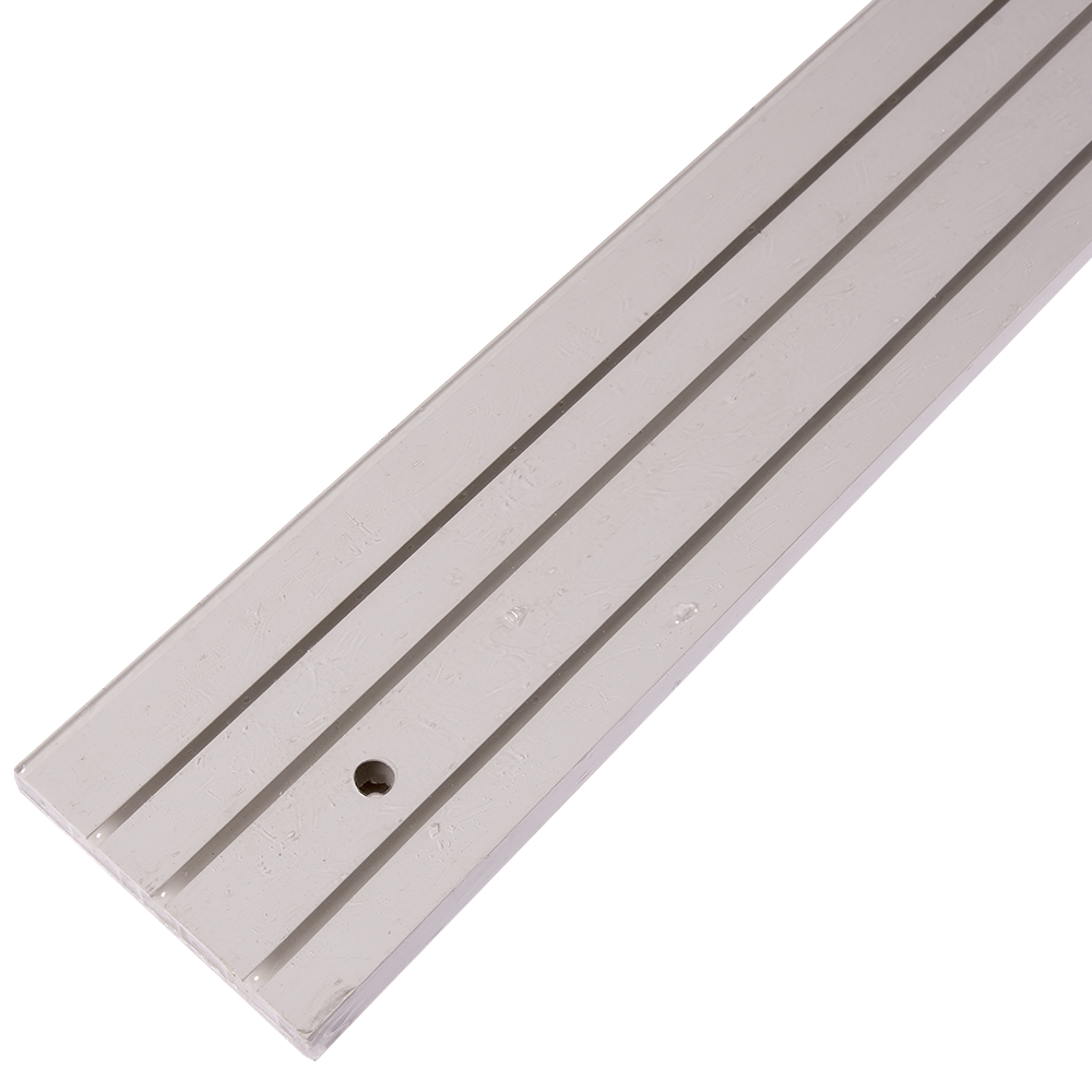 Sina perdea tavan SH3, PVC alb, 3 canale, 200 cm mathaus 2021