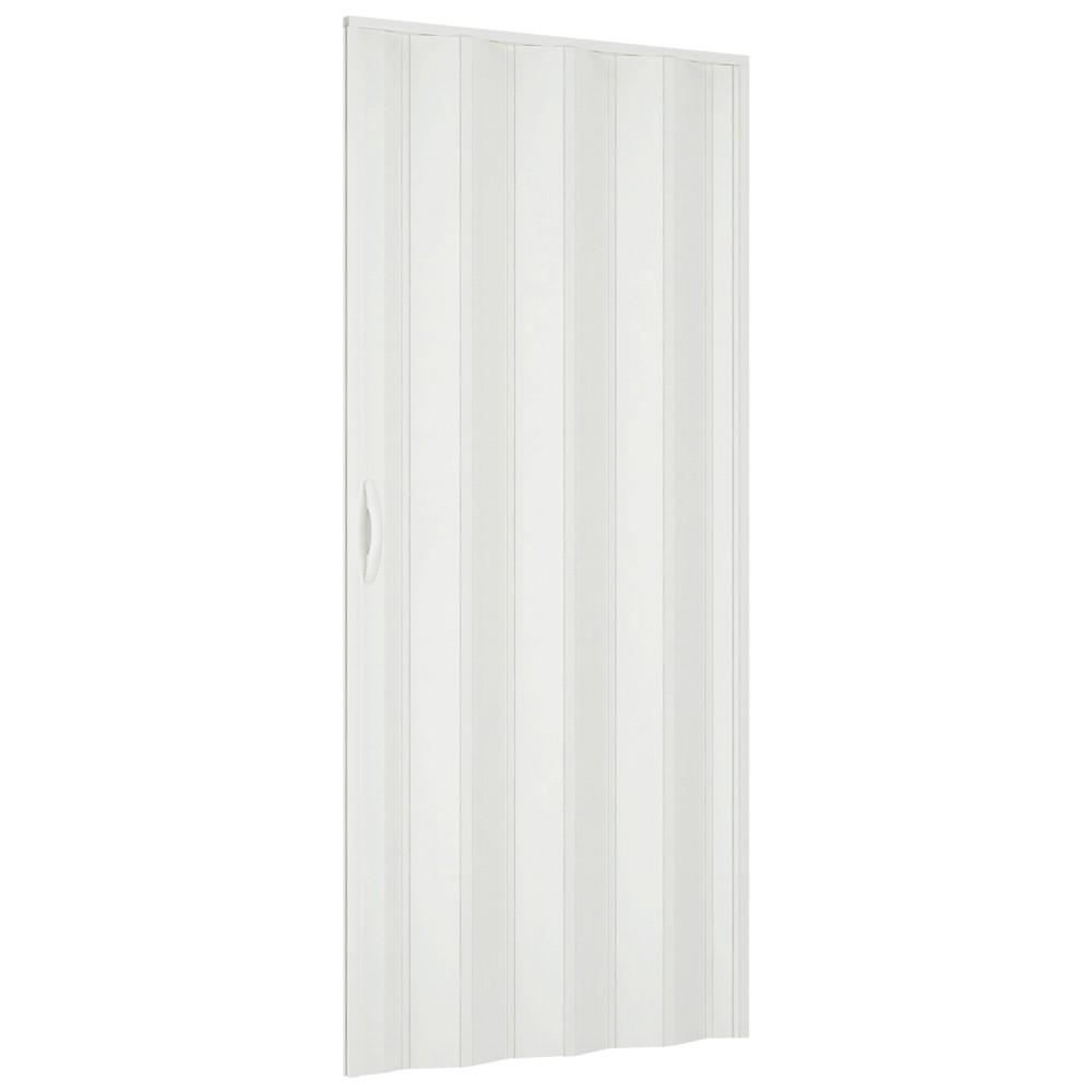 Usa plianta din PVC Italbox Aurora, 203 x 85 cm, alb