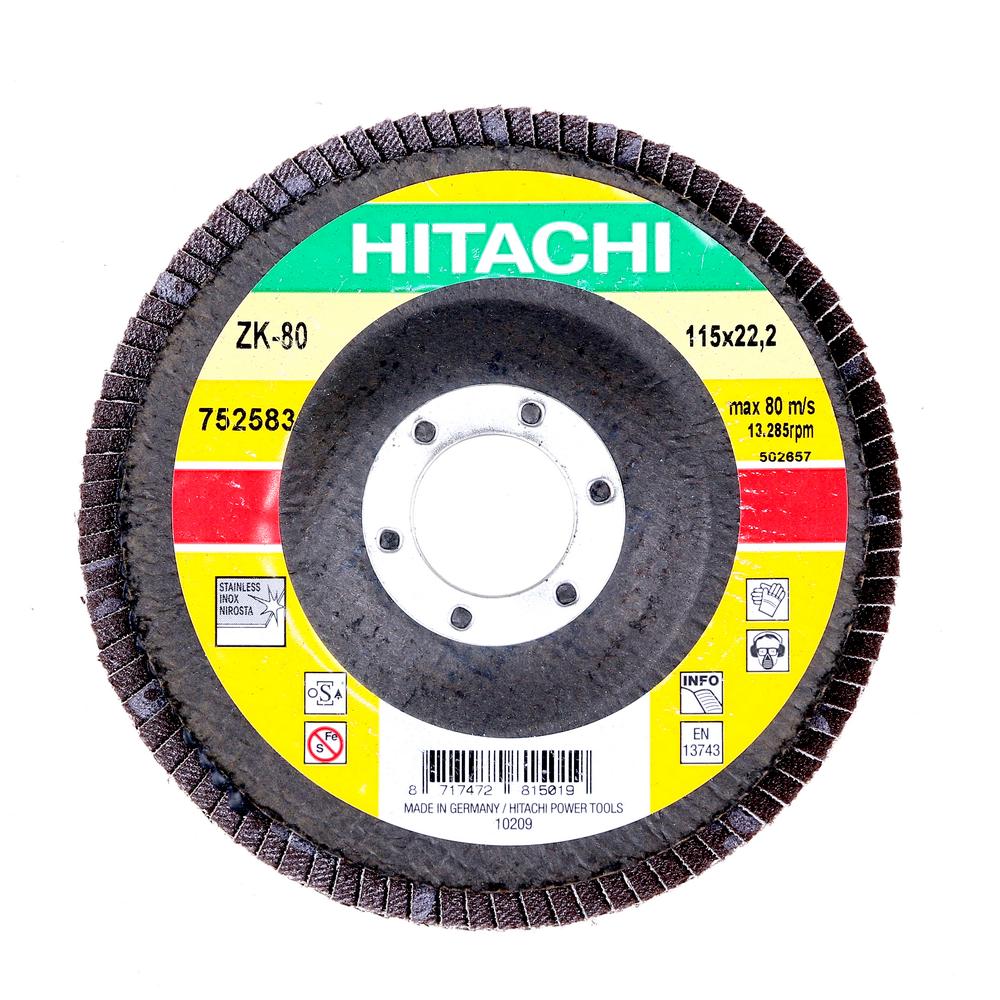 Disc Flapsuri Pentru Slefuit Hitachi 752583 115 X 22,2 X 9 mm mathaus 2021