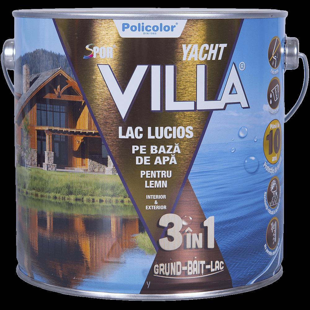 Lac Spor Villa Yacht lucios 3 in 1 mahon 2,5 L imagine MatHaus