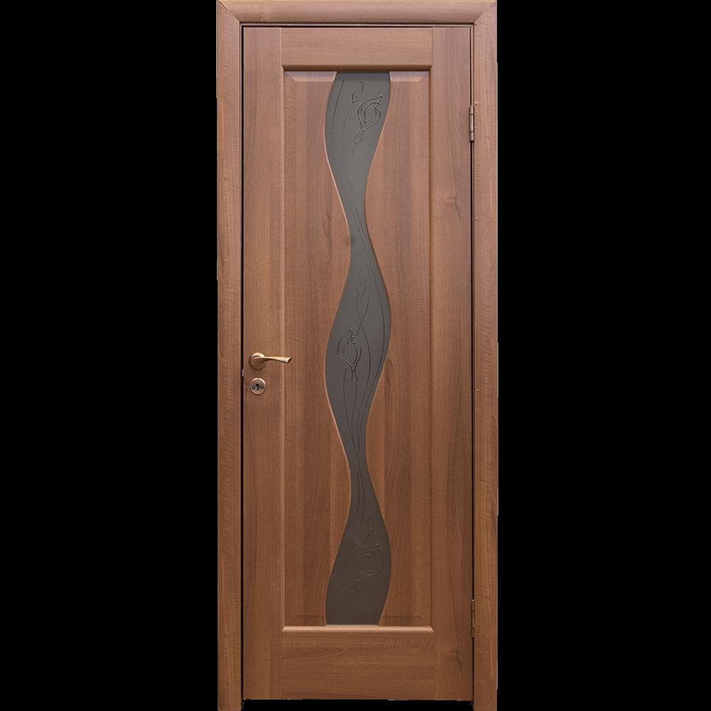 Usa de interior Maestra Volna, artar auriu, 200 x 80 x 4 cm imagine MatHaus.ro