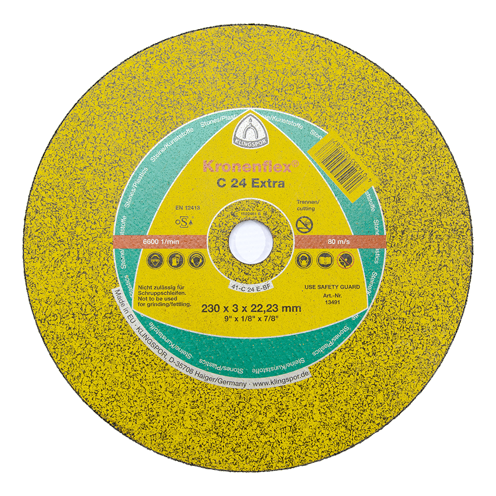 Disc Debitare Piatra Klingspor 13491 230 X 3 X 22,23 mm