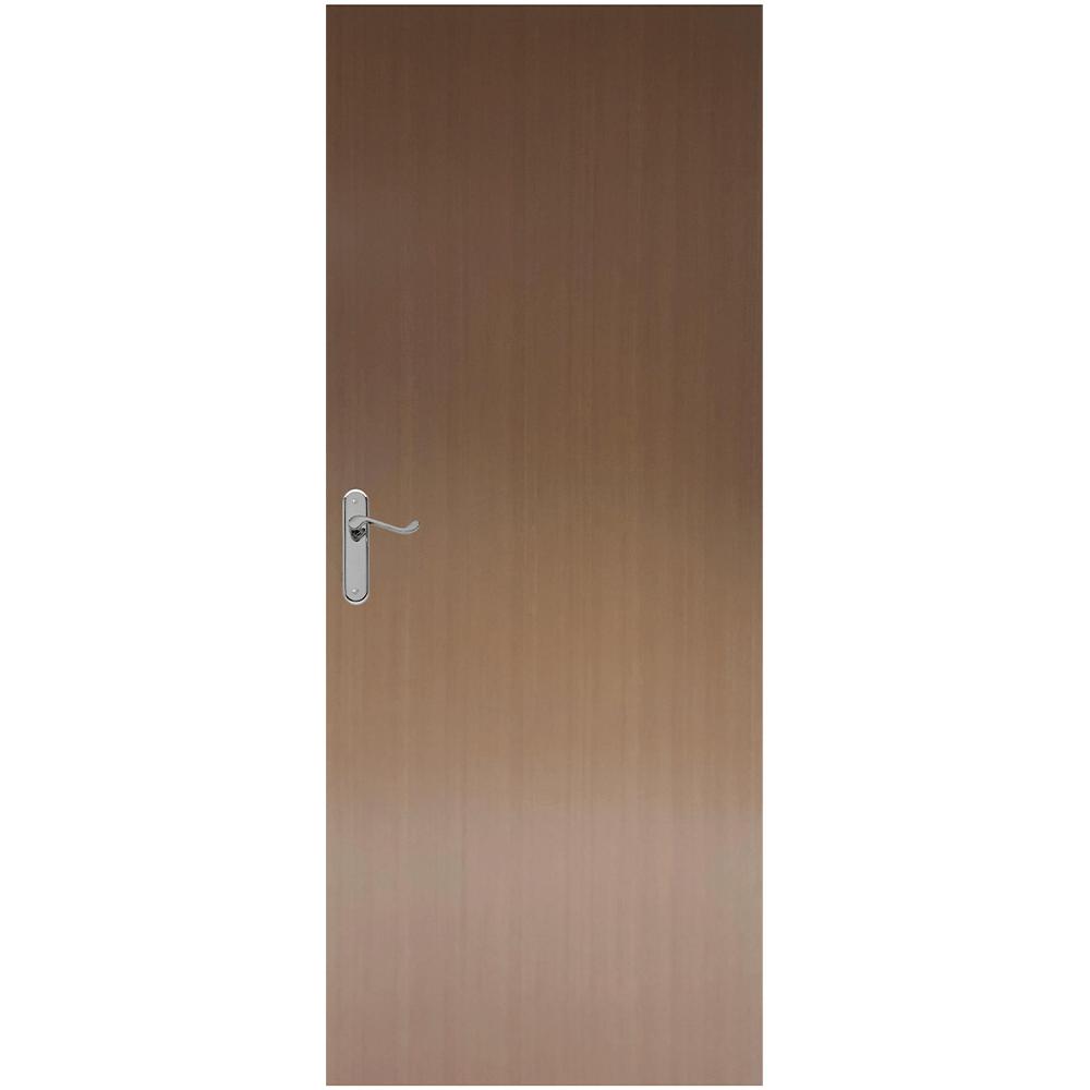 Usa plina interior, M050, stejar deschis , 200 x 80  cm + toc 10 cm imagine MatHaus.ro