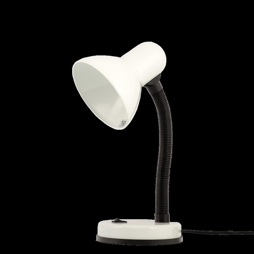 Lampa de birou Klausen Harry, 1 x E27, alb imagine 2021 mathaus
