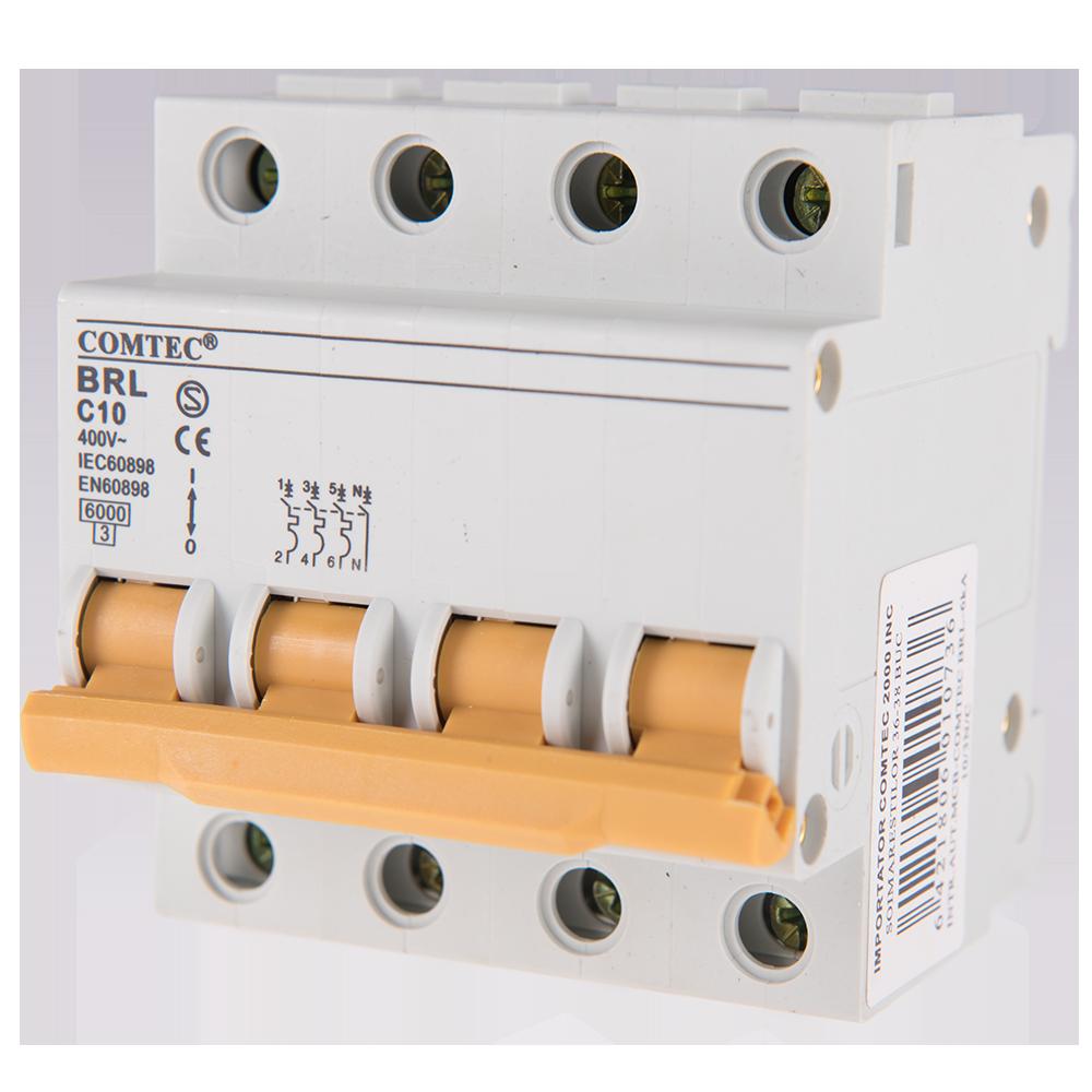 Intrerupator automat MCB 6kA 10/3N/C imagine 2021 mathaus