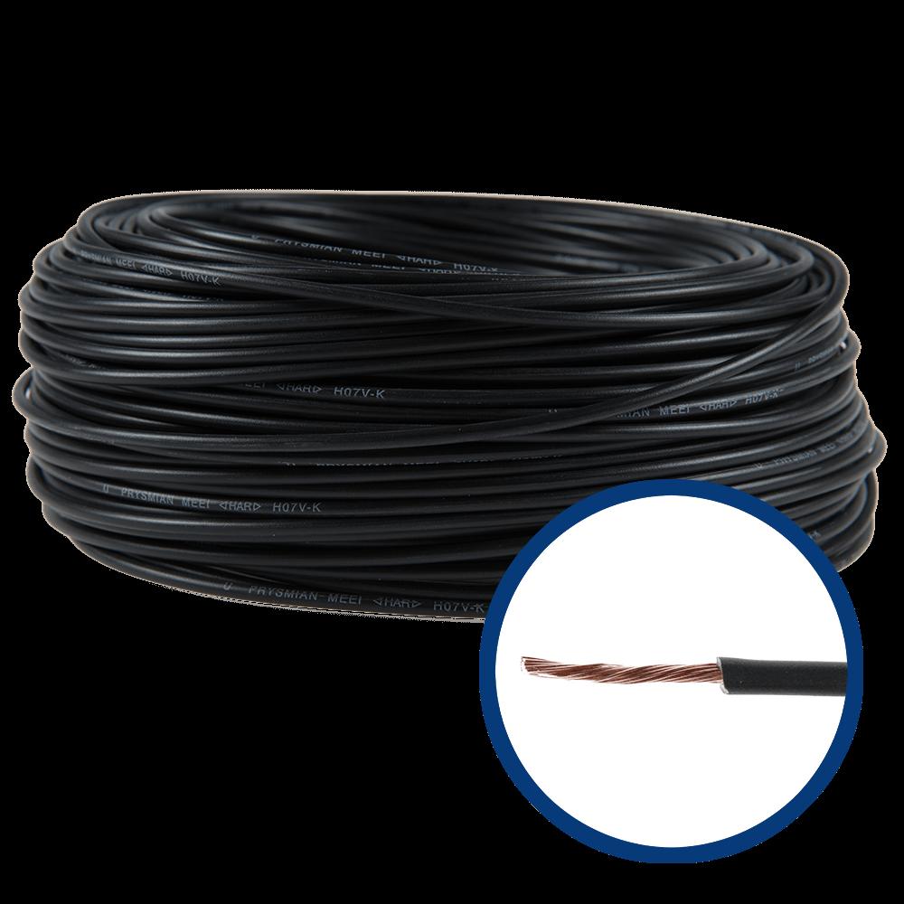 Conductor electric MYF / H07V-K 1,5 mmp negru imagine 2021 mathaus