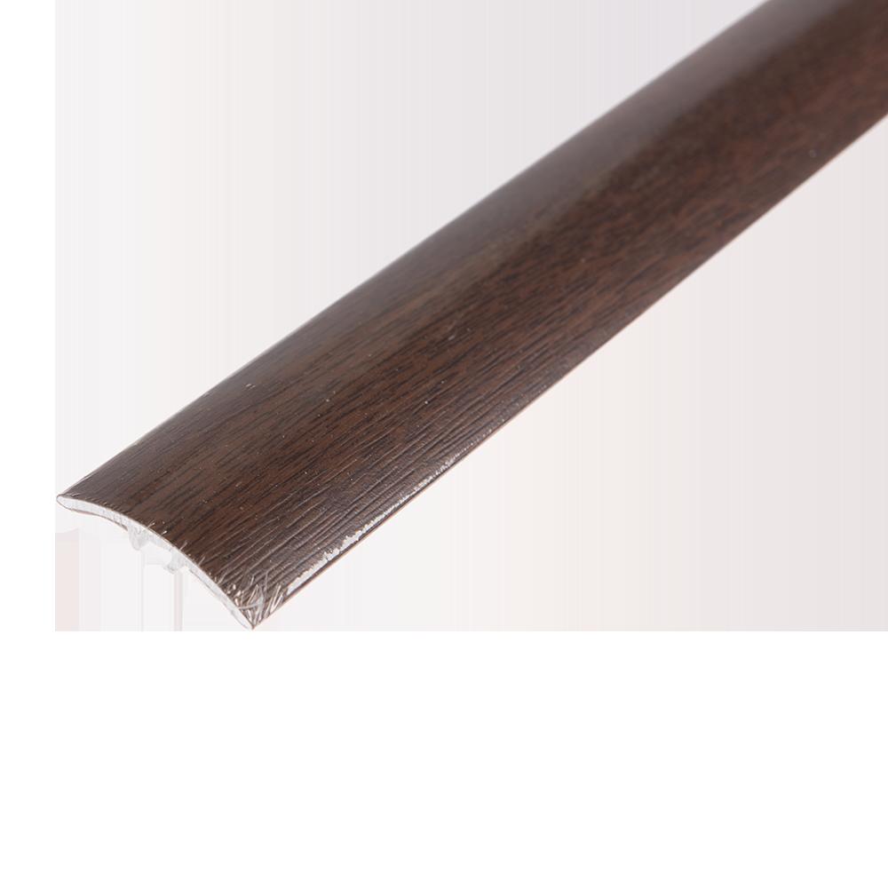Profil de dilatatie din aluminiu SM1 Decora nuc american, 93 cm imagine 2021 mathaus