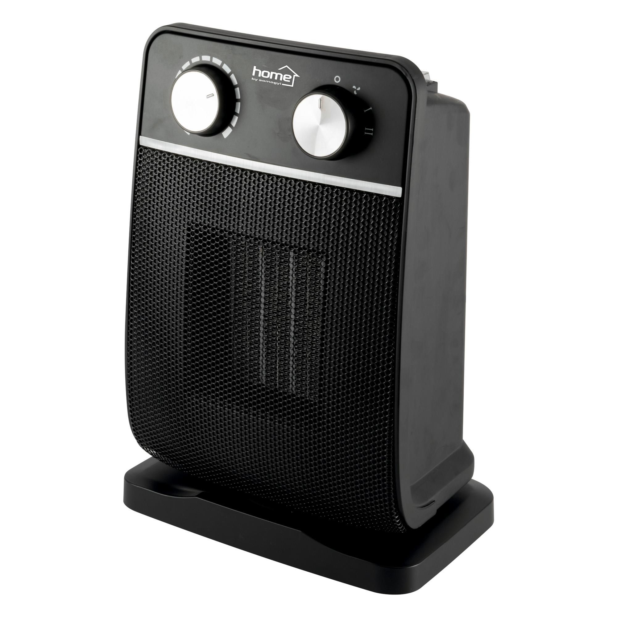 Radiator electric ceramic FK 29 Home by Somogyi, 1800 W, 2 trepte, termostat incorporat, oprire automata la rasturnare, IP20, 22 x 32 x 14,5 cm imagine 2021 mathaus