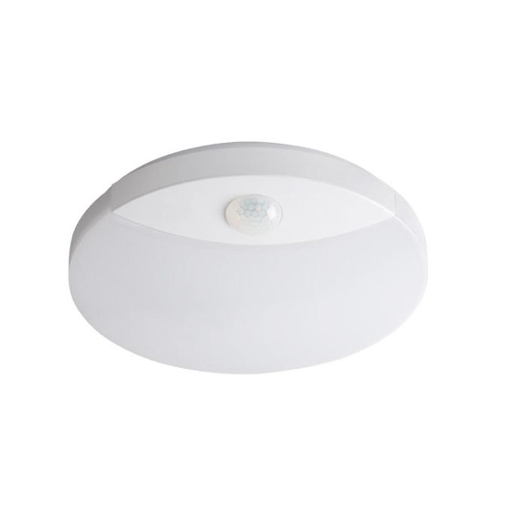 Plafoniera LED senzor Kanlux Sanso 15W, lumina neutra, IP44, D 250 mm mathaus 2021
