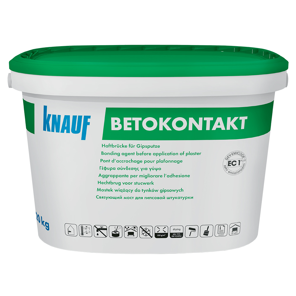 Amorsa pentru suprafete neabsorbante din beton, Knauf Betokontakt, 5 kg