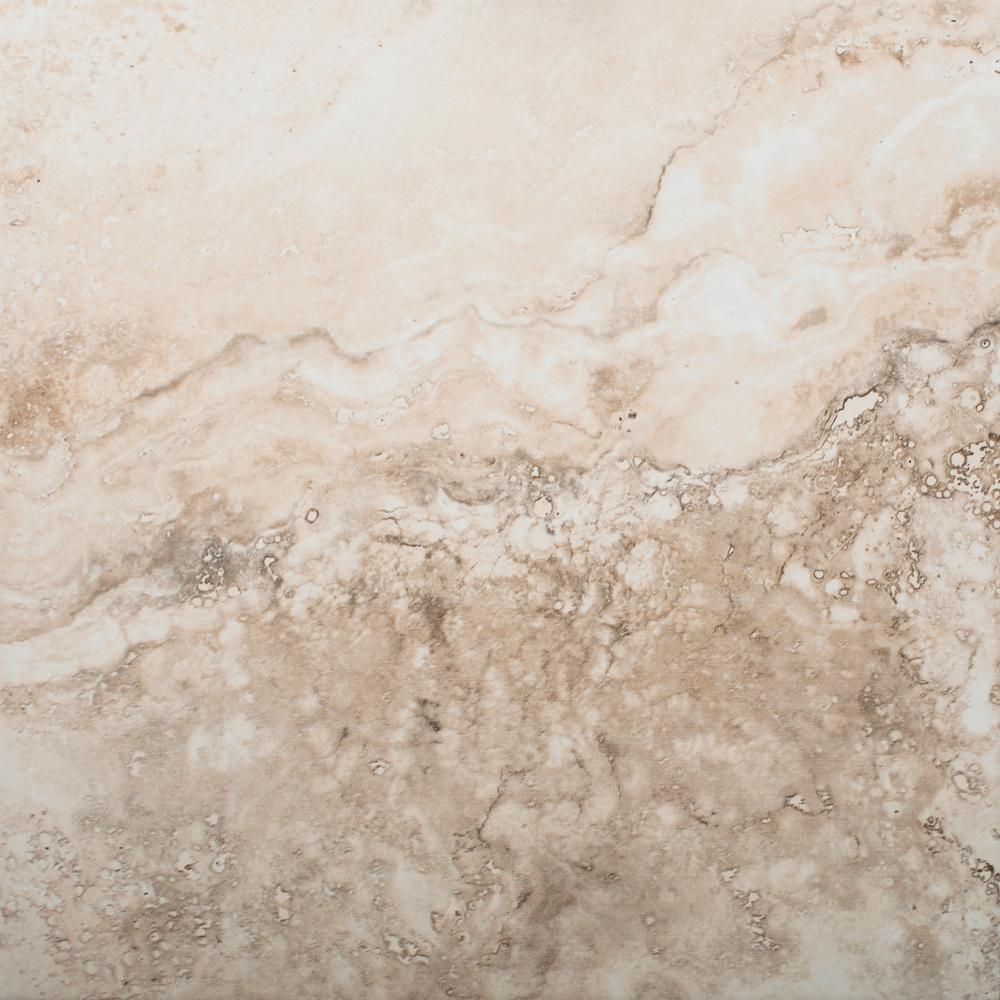 Gresie portelanata interior Dual Gres Philadelphia Noce bej mat, patrata, 31 x 31 cm