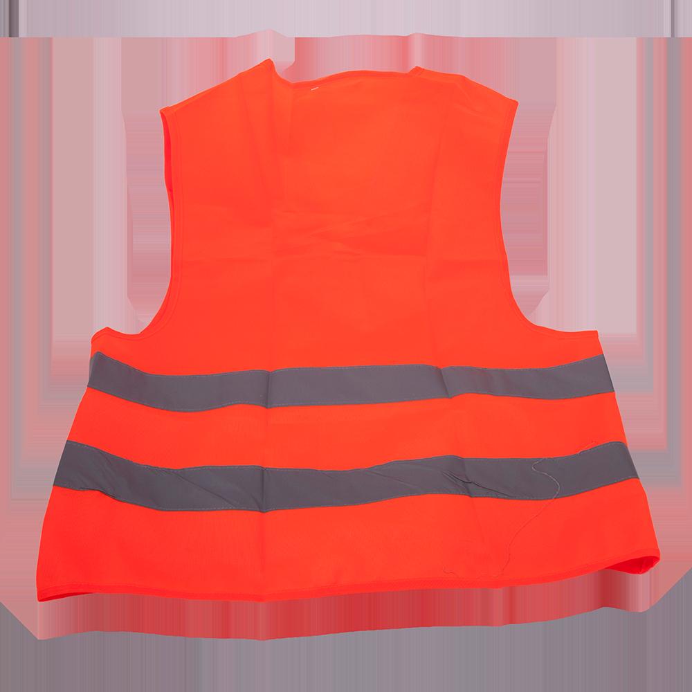 Vesta de semnalizare reflectorizanta 9194, portocaliu  fluorescent, marimea L imagine 2021 mathaus