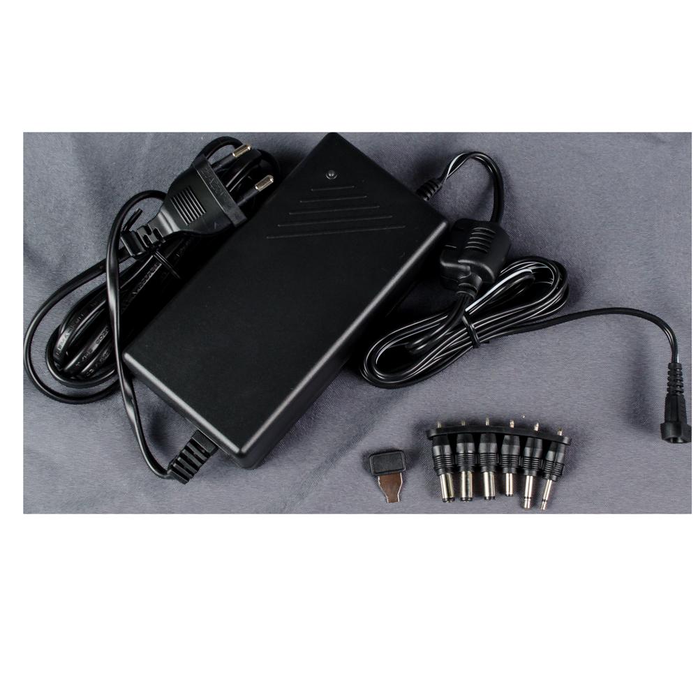 Adaptor universal pentru Notebook Somogyi MW 7H50GS, 6 mufe, stabilizat, 6-15V, 5A, negru mathaus 2021