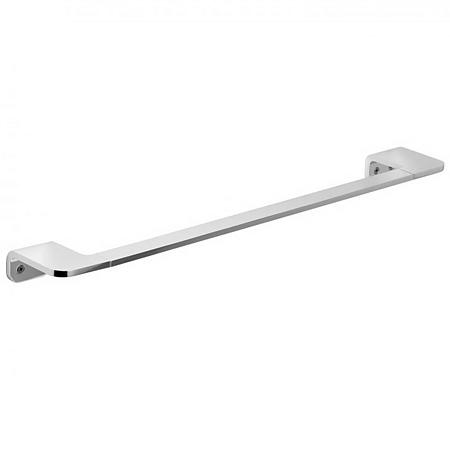 Bara pentru prosop baie medie Romtatay Flat, metal, argintiu, cromat, 7 x 3 x 45 cm