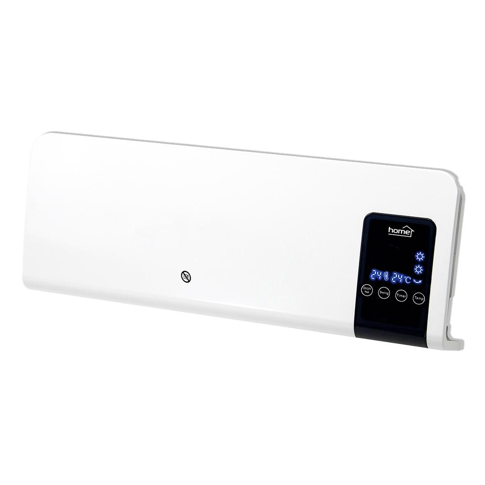 Aeroterma de perete cu ventilator FKF 59201 Home by Somogyi, 2000W , 2 trepte, termostat electronic, oprire automata, IP20, 54 x 20,5 x 12 cm imagine 2021 mathaus