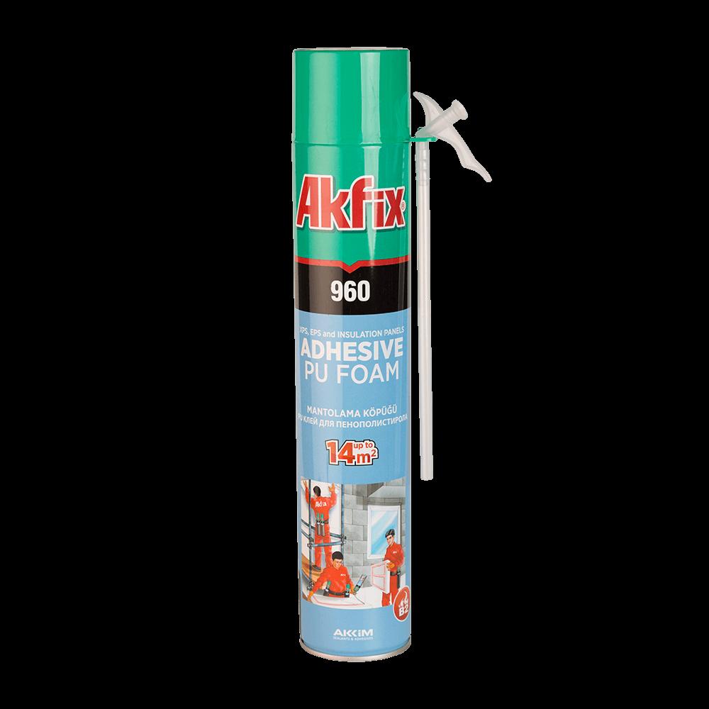 Spuma poliuretanica adeziva 960 Akfix, 900 ml mathaus 2021