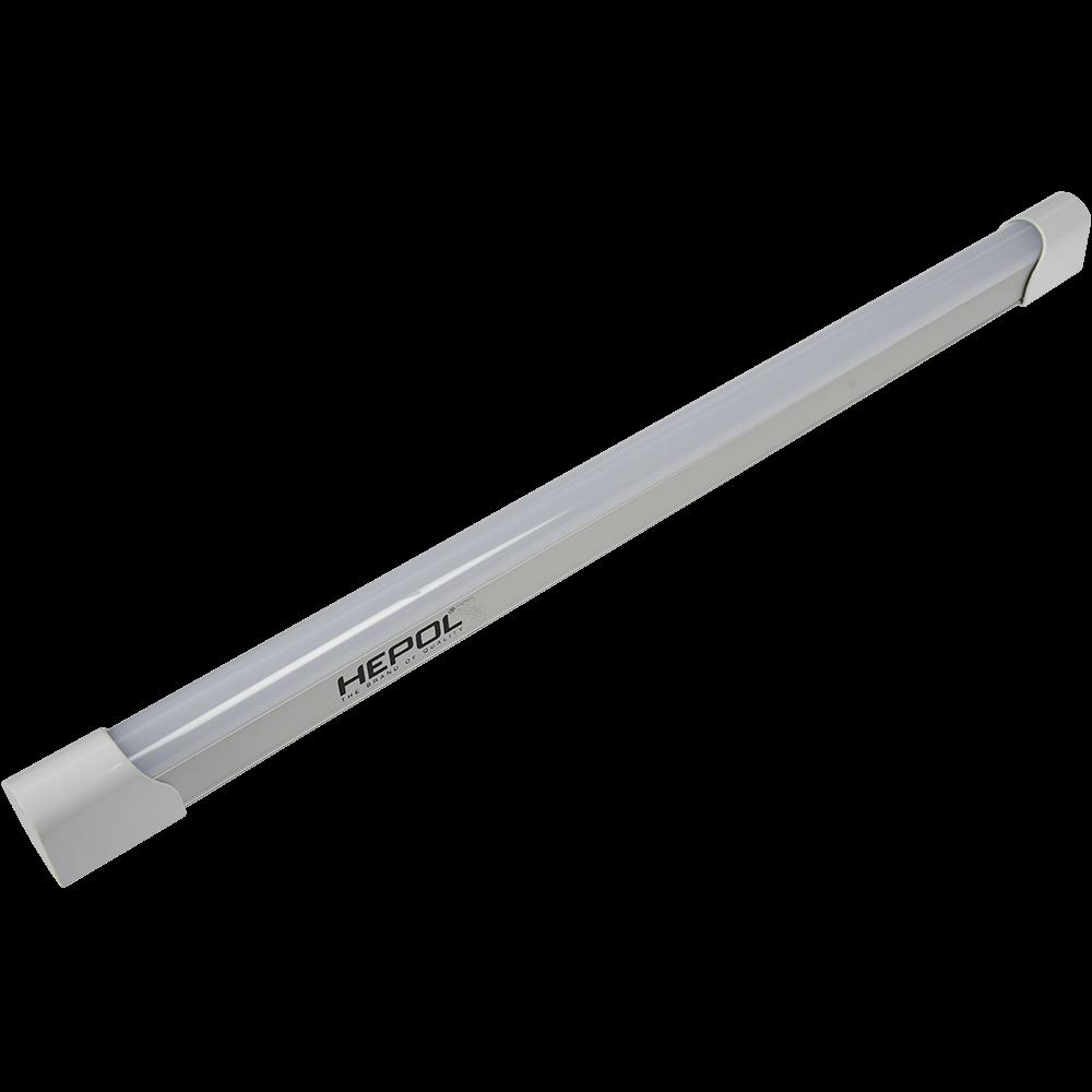 Corp LED Hepol T8, 10W, lumina rece, alb imagine MatHaus.ro