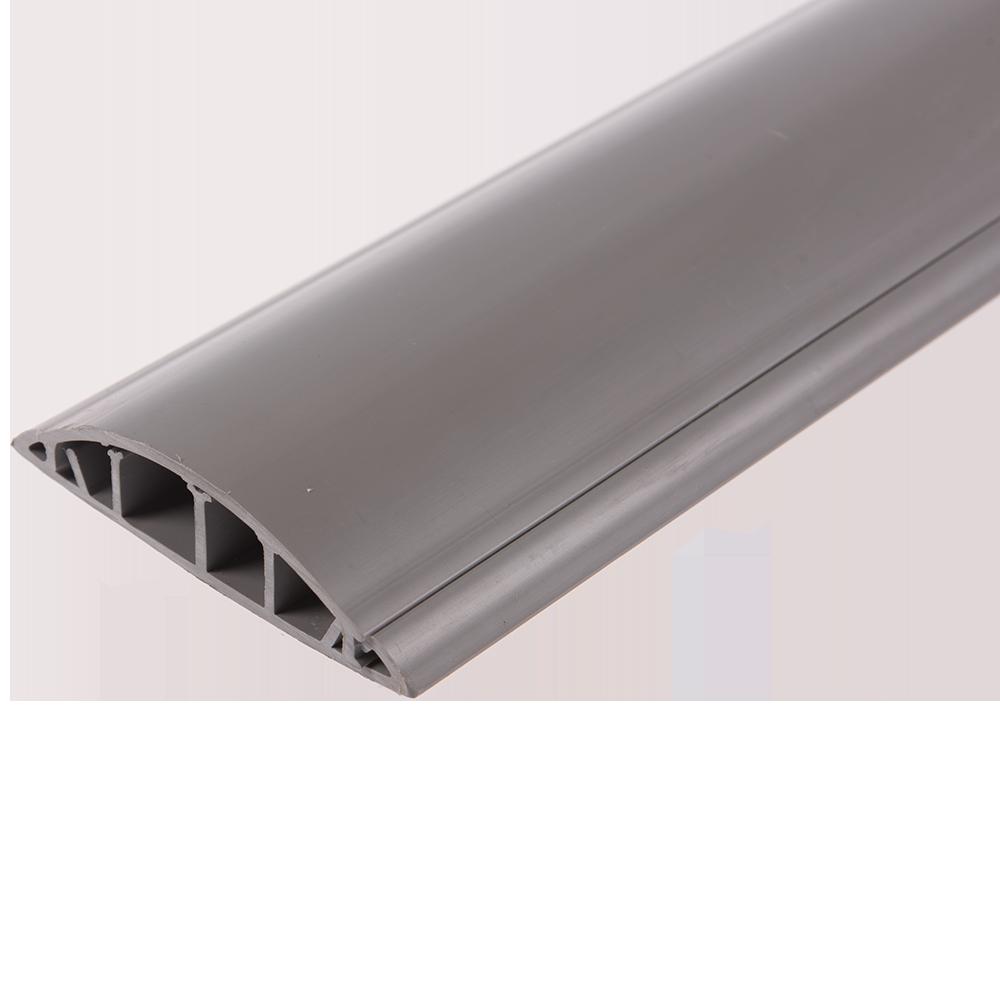 Canal de cablu slitat, semirotund, 2000 x 75x 18 mm