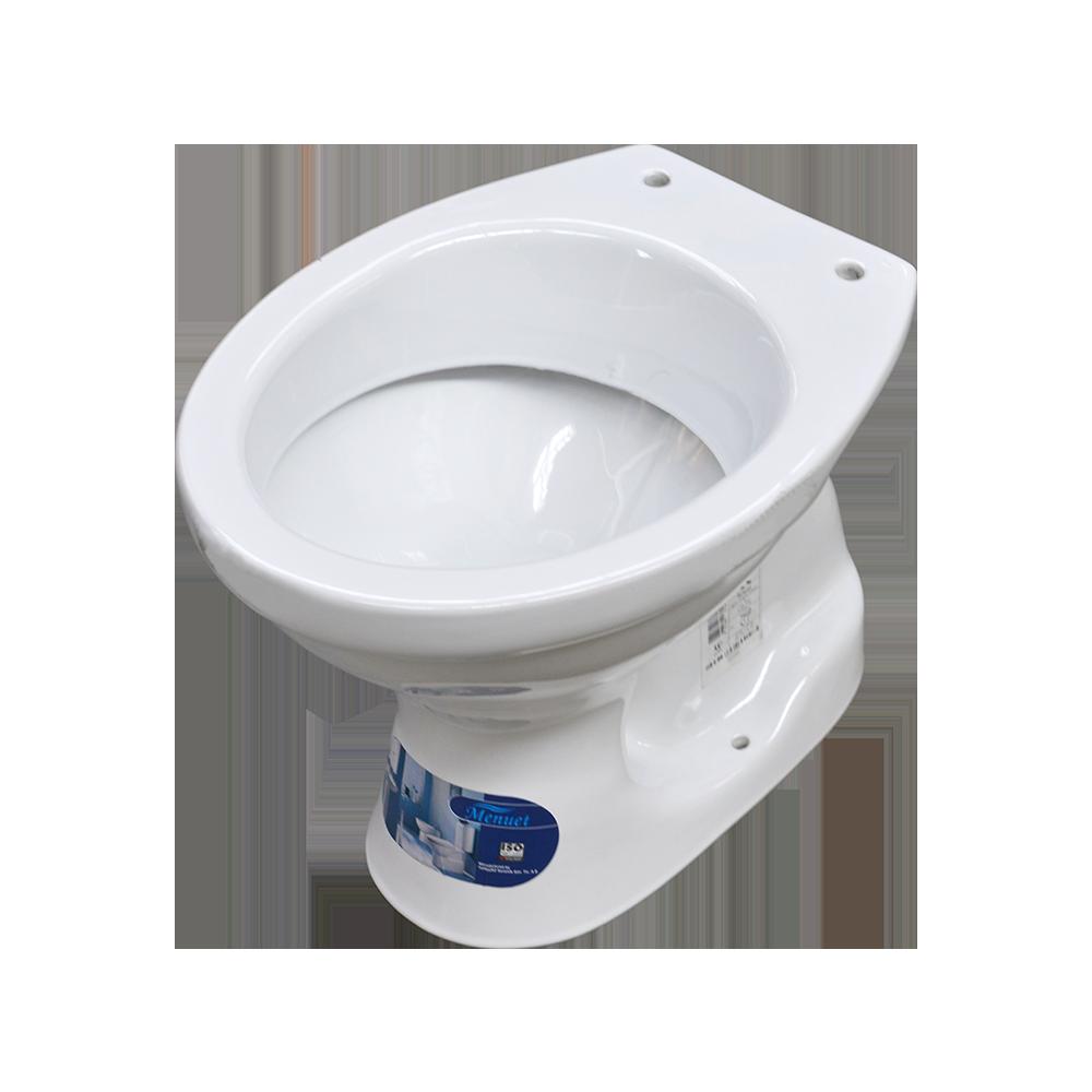 Vas WC pentru copii Menuet 5200, ceramica, evacuare verticala, alb imagine MatHaus.ro