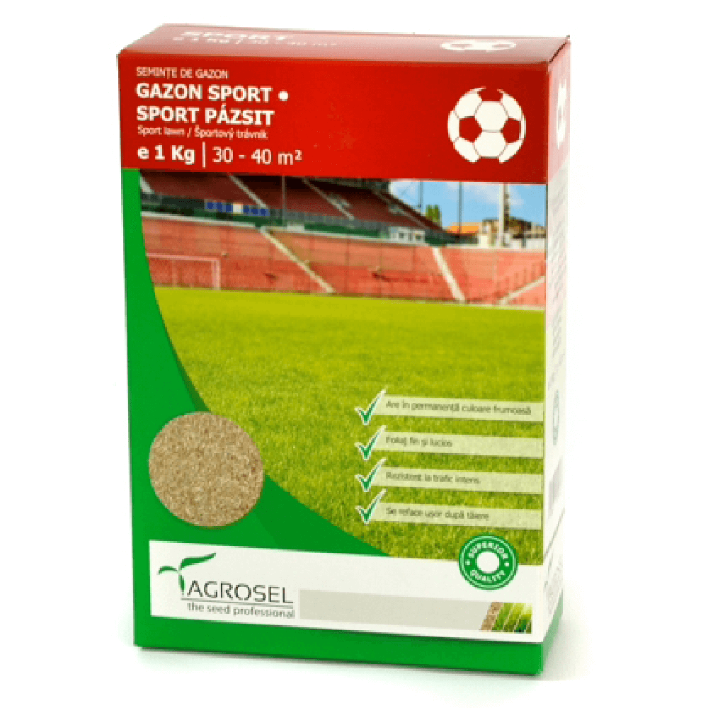 Gazon Sport Agrosel, 35 mp, 1 kg imagine 2021 mathaus