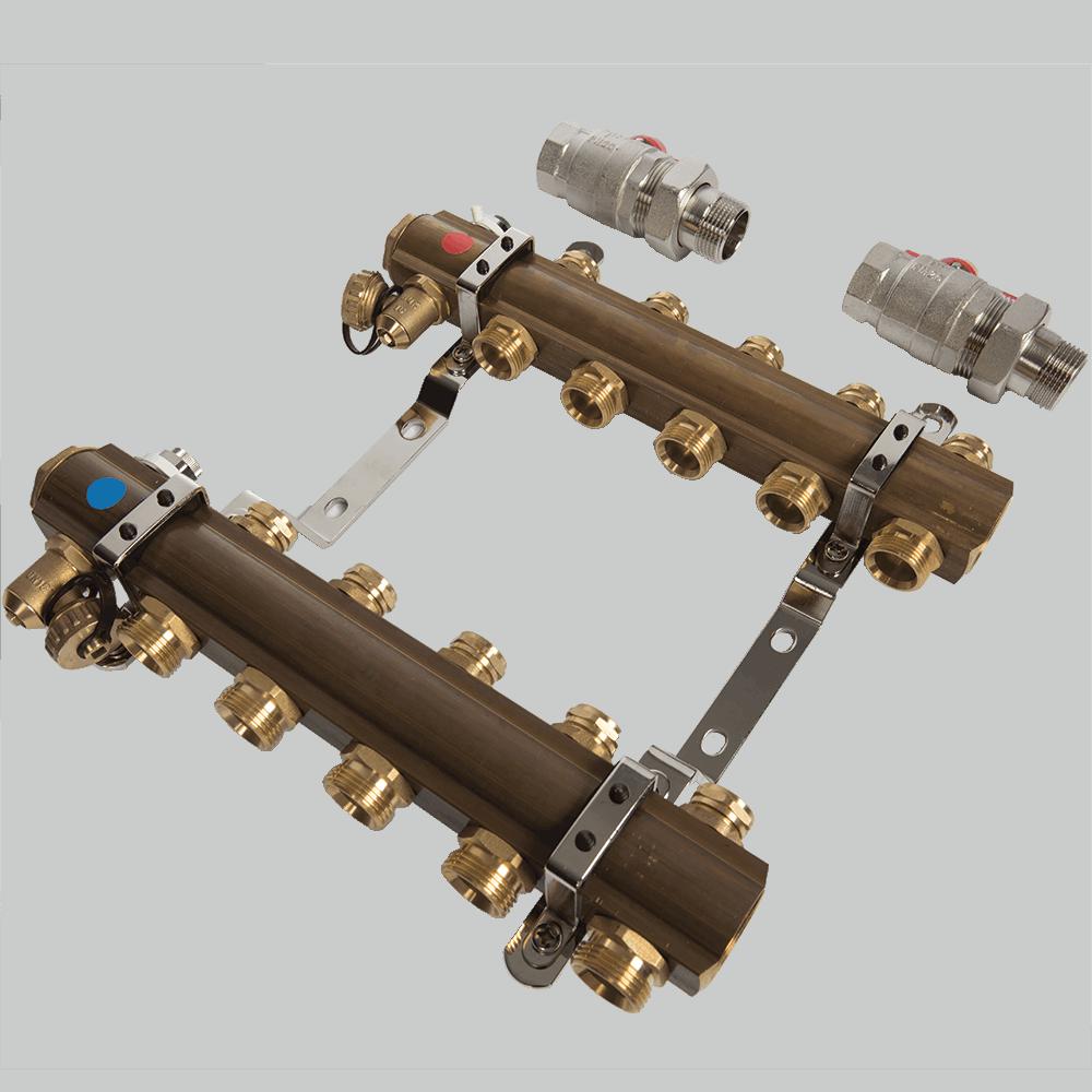 Distribuitor RO05 Ferro, 5 circuite, alama, 1 inch imagine 2021 mathaus