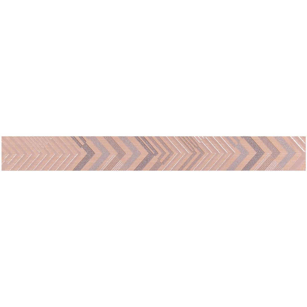 Brau faianta crem Texture Zig Zag, 5 x 40,2 cm