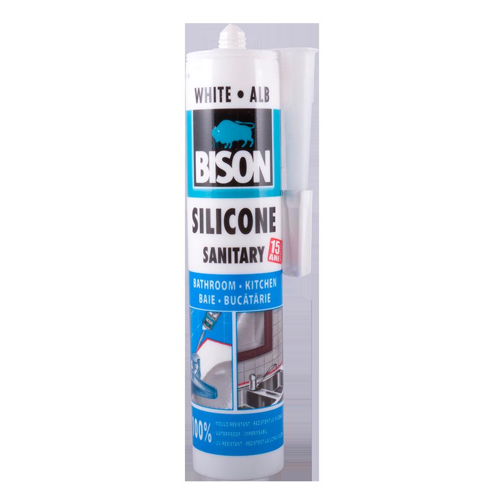 Silicon Sanitar Bison alb 280 ml mathaus 2021