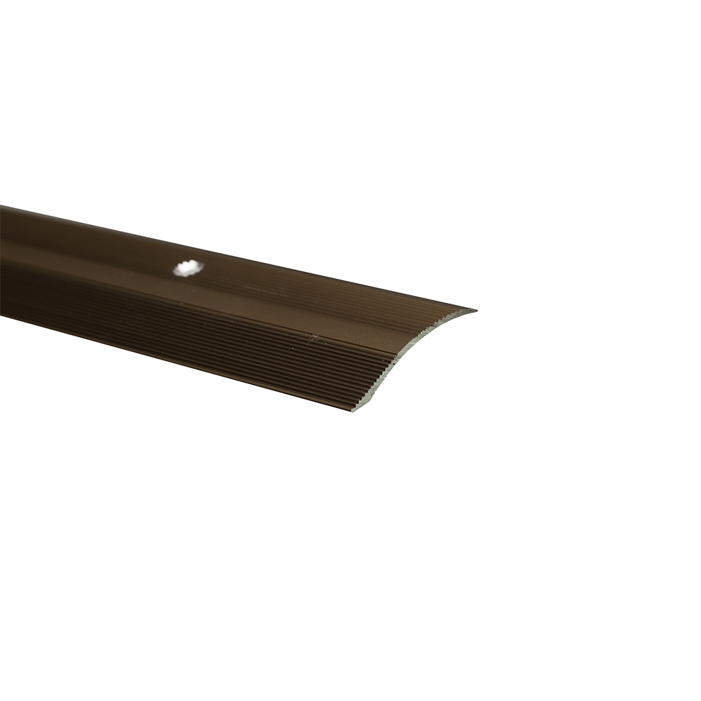 Profil trecere cu diferenta de nivel S05, aluminiu, 2700 x 40 x 7 mm, bronz imagine 2021 mathaus