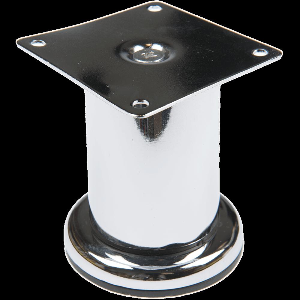 Picior rotund crom CL004 D50 x 80 mm imagine MatHaus.ro