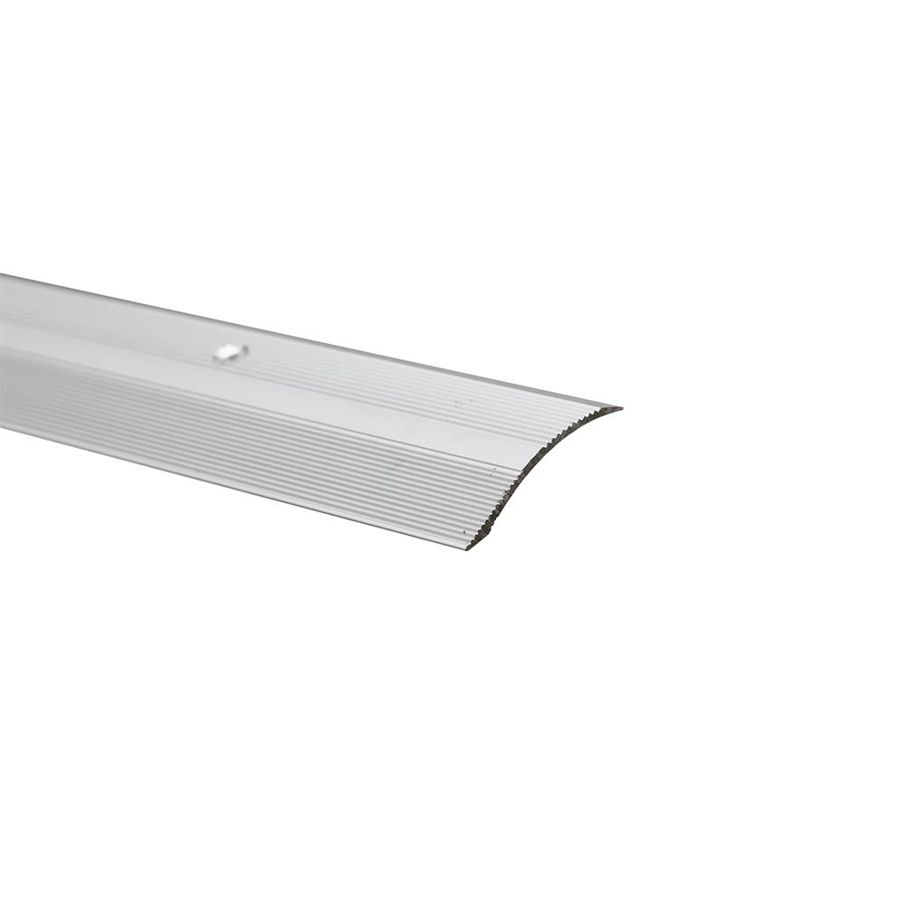 Profil trecere cu diferenta de nivel S05, aluminiu, 2700 x 40 x 7 mm, argintiu